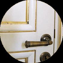 Двери выполненные работы