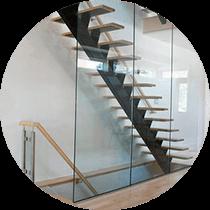 Металлические каркасы лестниц выполненные работы