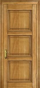 Дверь из массива дуба натуральный