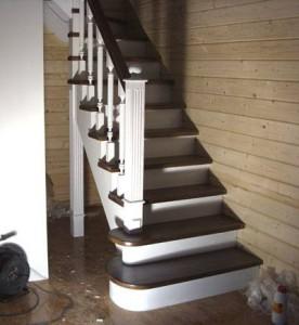 Монтаж лестницы в частном доме